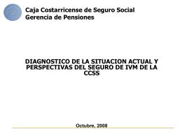 Caja Costarricense de Seguro Social Gerencia División de