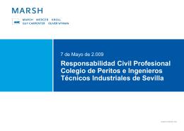 Responsabilidad Civil Profesional - Colegio Oficial de Peritos e
