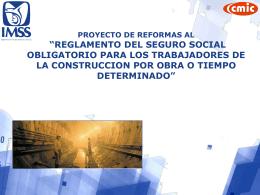 Reglamento del Seguro Social Obligatorio para los Trabajadores de