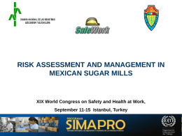 Diálogo Social para el Trabajo seguro: Industria azucarera