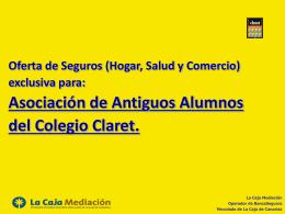 pincha aquí - Asociación de Antiguos Alumnos Claret