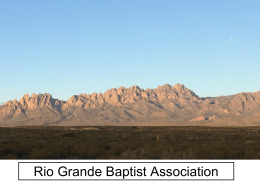 Rio Grande Baptist Association