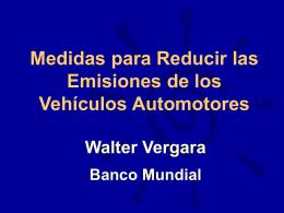 Transporte y Medio Ambiente: Consideraciones para un siglo crítico