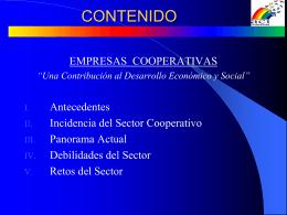 Una Contribución al Desarrollo Económico y Social
