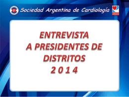 distrito tucumán - Sociedad Argentina de Cardiología