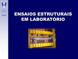 6.2 Ensaios em laboratorio