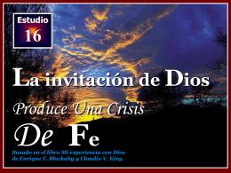 LA ORACIÓN - Iglesia de Convertidos a Cristo