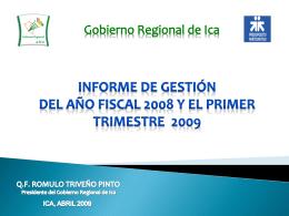 proceso del presupuesto participativo año fiscal 2006