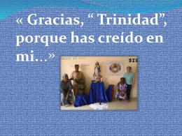 Diapositive 1 - Misioneras de la Inmaculada Concepción