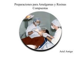 Cavidades para amalgama y resinas compuestas