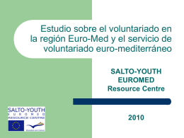 Voluntariado... - Salto
