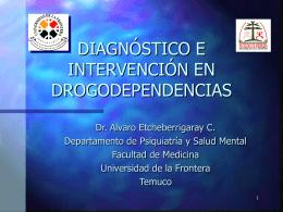 Diagnóstico e Intervención en - Sociedad Chilena de Salud Mental