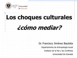 Los choques culturales - Centro de Investigación para la Paz