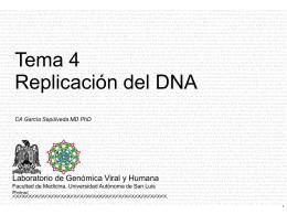 DNA - Universidad Autónoma de San Luis Potosí.