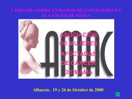(AMAC) Asociación de Mujeres Afectadas de Cancer de Mama. ( 0.1