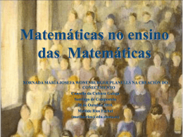 Mujeres en las matemáticas - Consello da Cultura Galega