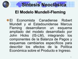El modelo Mundell
