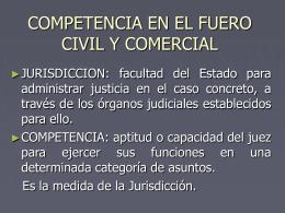 MATERIAL DRAS BENITEZ y BELAVI COMPETENCIA DEL FUERO