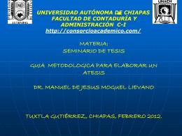 Diapositiva 1 - Consorcio Academico