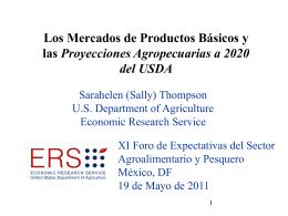 Mercados de productos básicos