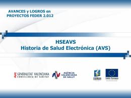 presentación agencia valenciana de salud, generalitat valenciana