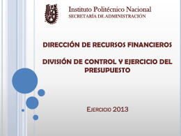 Diapositiva 1 - Instituto Politécnico Nacional
