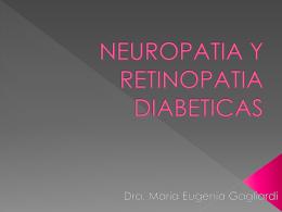 Neuropatia y retinopatia diabeticas
