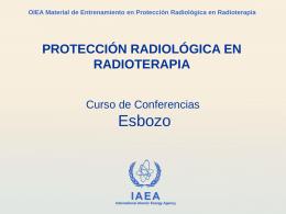 Protección Radiológica en Radioterapia.