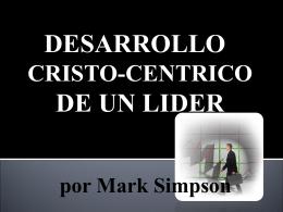 Diapositiva 1 - Iglesia de Cristo Mahanaim