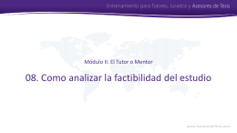 Asesores de Tesis - Bioestadistico.com