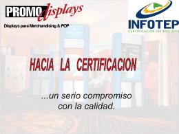 Presentación PromoDisplays Infotep
