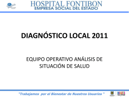 presentación diagnostico local 2011.