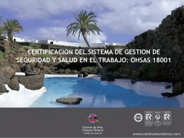 oshas 18.001 cact - Cabildo de Lanzarote