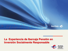 Presentacion Ibercaja Pension.