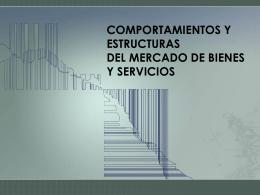 Mercado de Bienes y Servicios.Cely Ronquillo