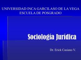 la sociología jurídica