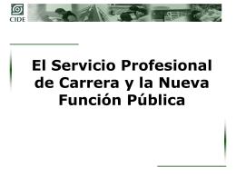 PresentaciónMD - Secretaría de la Función Pública