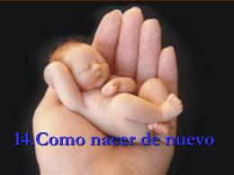 Como nacer de nuevo - ministeriolaesperanzaesjesus.com