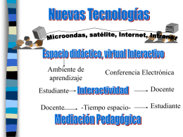 Diapositivas nuevas tecnologias