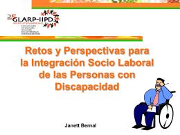 Retos y perspectivas para la integración socio laboral de las