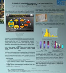 Evaluación de competencias funcionales en personas seropositivas