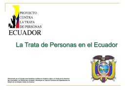Busca Prevención y Asistencia a víctimas TRATA DE PERSONAS
