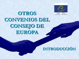Convenio europeo sobre la transmisión