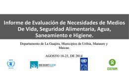 PPT informe La Guajirasept 18