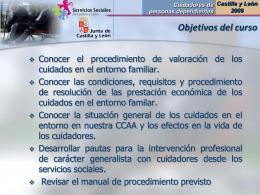 Cuidadores (presentación)