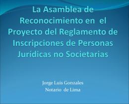 """""""Derecho Civil II: Personas Jurídicas"""" (primera sesión)"""