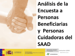 Power Point encuesta personas beneficiarias(28 octubre).