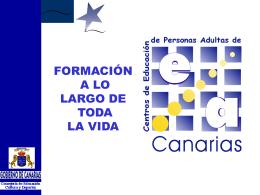 Presentación - Gobierno de Canarias