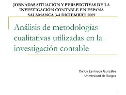 Tema 2: Diseño y evaluación de la investigación