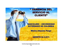 El cliente - Bancoldex